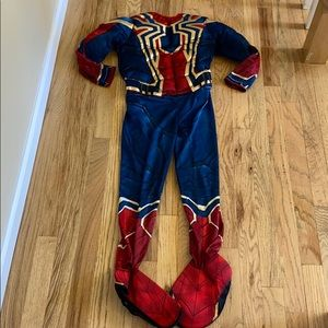 EUC Iron Spider Man Costume size M (8-10)